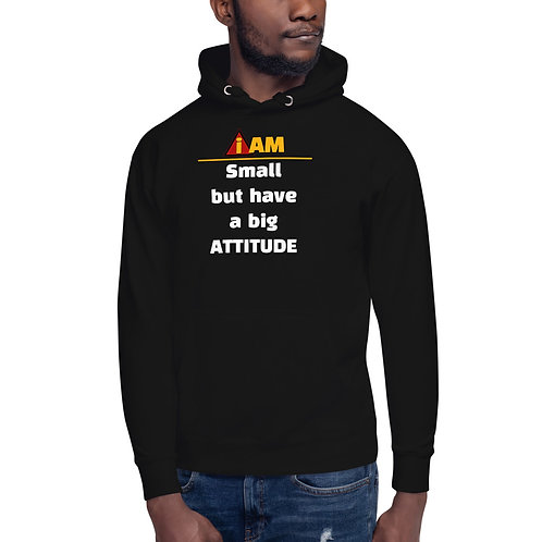 i am small but have a big attitude Hoodie