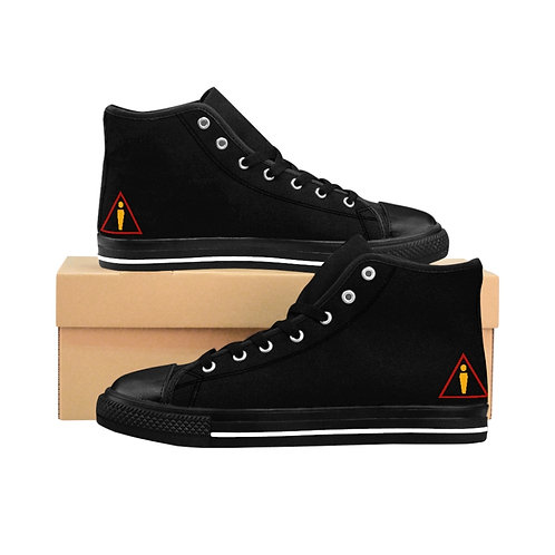 WLA-Design Men's High-top Sneakers by Warning Label Apparel