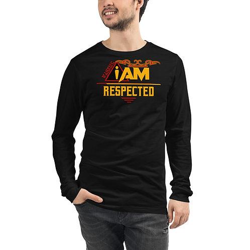 i am respected men's Long Sleeve Tee