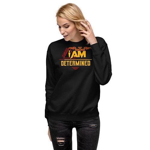 i am determined women's Fleece Pullover