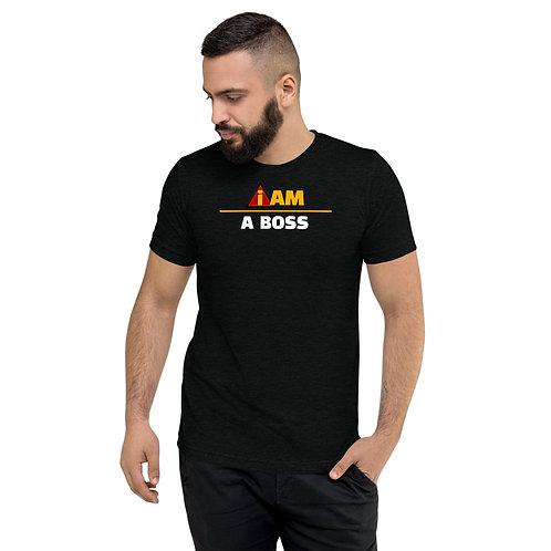 i am a boss men's t-shirt