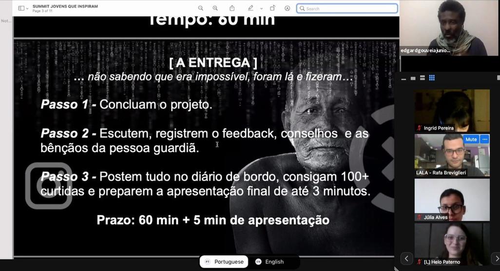 Presentation by Edgard Gouveia (JornadaX)