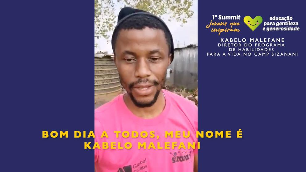 Kabelo Malefane (Life Skills Program at Camp Sizanani)