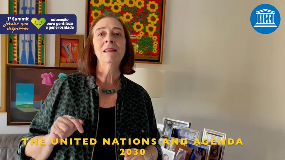 Marlova Noleto (Director and UNESCO representative in Brazil)
