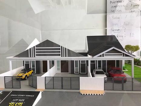 (2.1) Single Storey Terrace Location : Changkat Larah, Perak