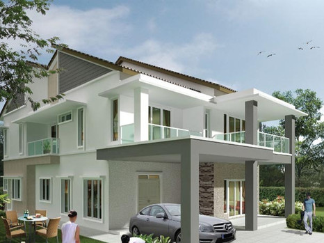 (5.2) Double Storey Bangalow Location : Simpang, Perak