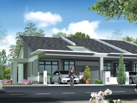 (8.1) Single Storey Terrace Location : Kamunting, Perak
