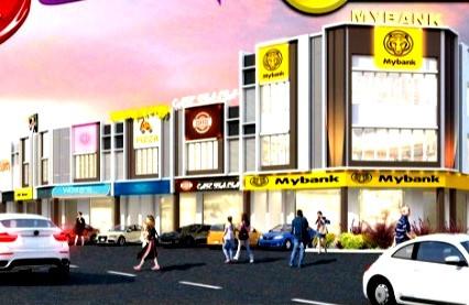 (3.2) Double Storey Shoplots Location : Kamunting, Perak