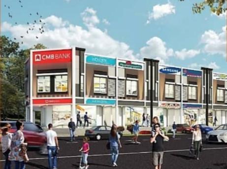 (4.3) Double Storey Shoplots  Location : Kuala Kangsar, Perak