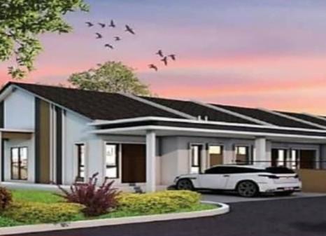 (4.1) Single Storey Terrace  Location : Kuala Kangsar, Perak