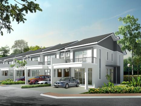 (7.2) Double Storey Terrace  Location : Jerlun, Perak