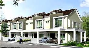 (5.1) Double Storey Terrace Location : Simpang, Perak