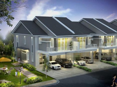 (9.3) Double Storey Terrace Location : Kamunting, Perak