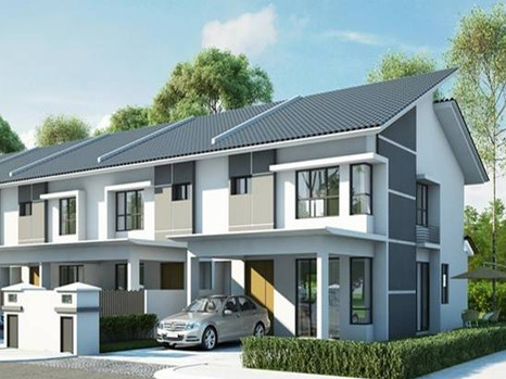(6.2) Double Storey Terrace Location : Jerlun, Perak