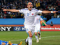 Slovakia-v-Italy-Robert-Vittek-celeb-two