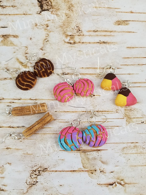 Food Earring & Necklace Sets (Different Kinds)