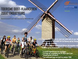 Toerisme Oost-Vlaanderen zoekt enquêteurs!