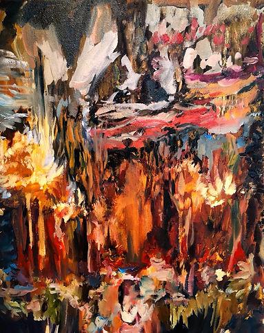 Claustrophobe, 2020, Oil on acrylic on canvas, 56 cm x 46 cm,.jpg