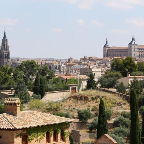 Sobervias vistas de Toledo