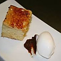 Brioche torrija with artisan Ceylan cinnamon ice cream