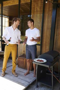 Los pantalones de la línea MEYER EXCLUSIVE destacan por su perfección artesanal.