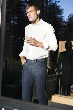 Pantalones que rezuman desenfado.