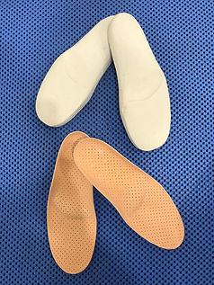 Plantilla ortopédica de silicona