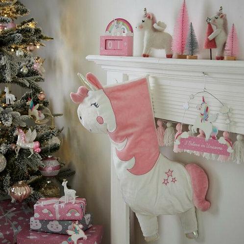 Sass And Belle BettyThe Rainbow Unicorn Christmas Stocking