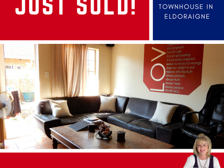 2-Bedroom townhouse SOLD in Eldoraigne _ R 820 000