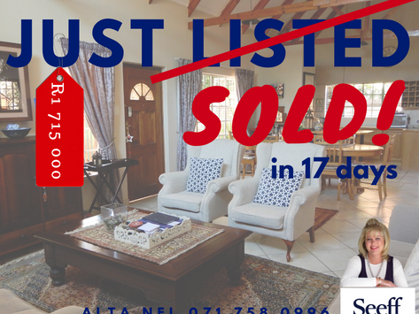 Super neat townhouse sold in 17 days!