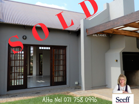 3 Bedroom Villa in Raslouw Glen Estate - R 2 370 000