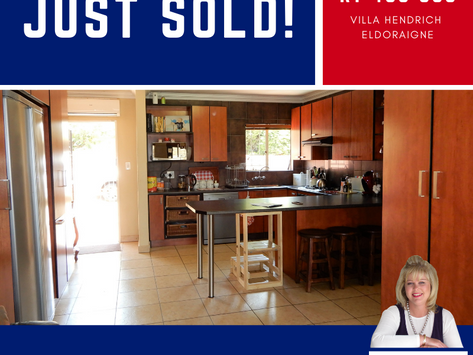 3-bedroom Townhouse Sold at FULL Asking Price - R 1 435 000