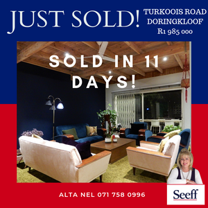 3-bedroom house sold in Lyttleton Manor-Alta Nel Seeff