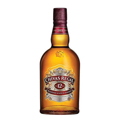CHIVAS REGAL 12 AÑOS 750ML