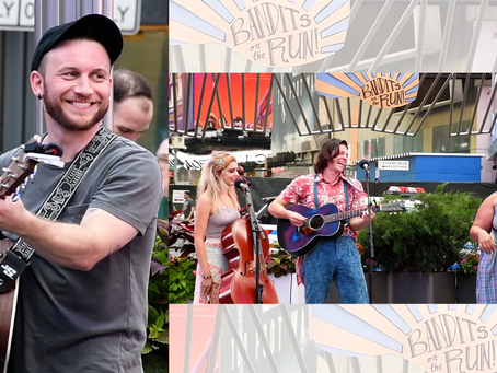 Gerard Canonico and Bandits on the Run Launch Broadway Buskers 2021 Season
