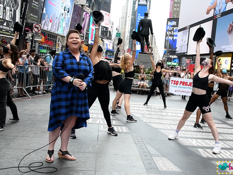TSQ Project Revitalizes Times Square While Supporting Artists
