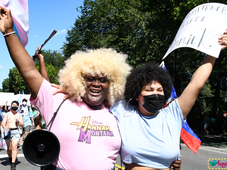 Trans March on Broadway