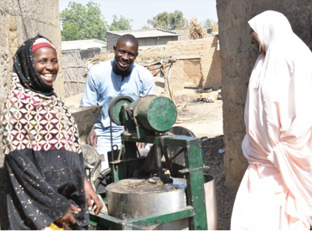 In Nigeria, women in agribusiness are growing profits through peanut processing