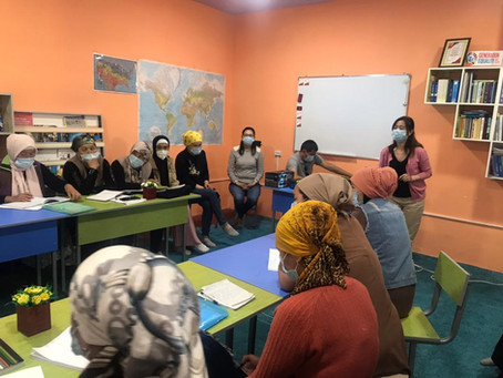 Q&A with U.S.-based volunteer supporting small business development in her native Kyrgyzstan