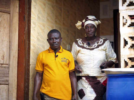 Living her dream: soap business success financially empowers woman in rural Ghana