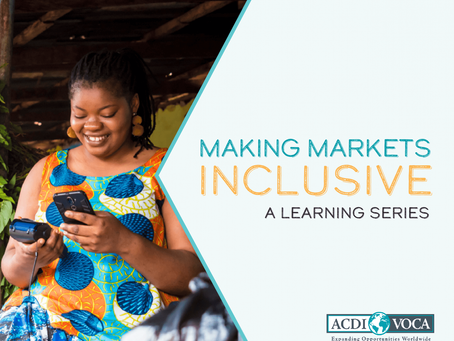 Making markets inclusive: designing for inclusion