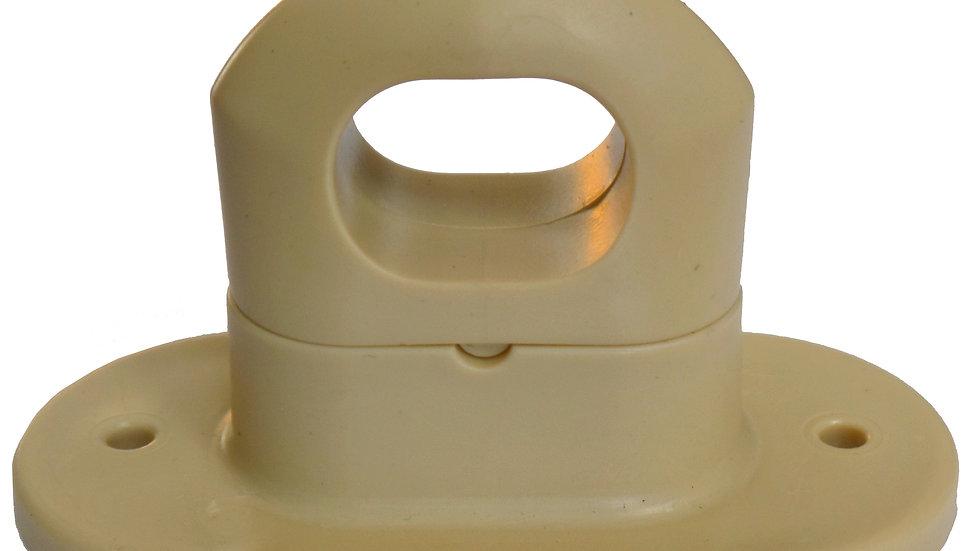 Zamknięcie obrotowe plastikowe 22 x 42 mm