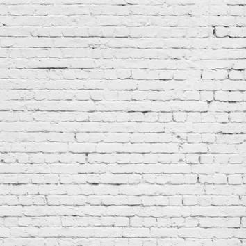 Brick Wall - White