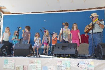 children's time with Jim Keezer