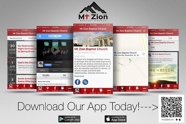 MtZion Mobile App
