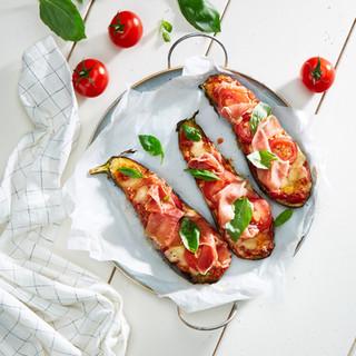 Aubergines Pizza - le Comté