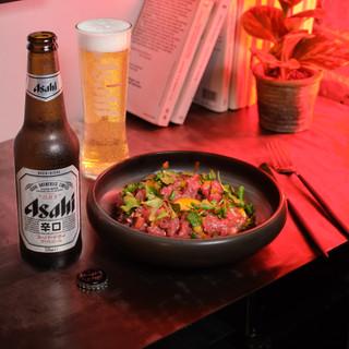 Tartare au couteau - Asahi