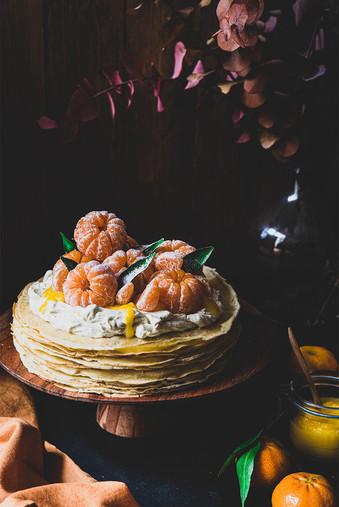 Gâteau de crêpes pour Chhhop