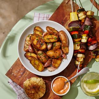 BBQ et pommes de terre - Pom Bistro