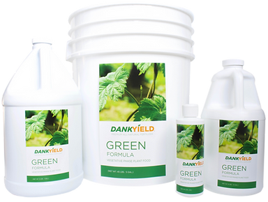 Green Formula vegetative growth fertilizer
